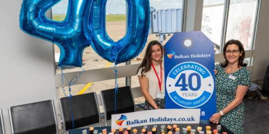 Balkan Holidays celebrates 40 years of flying holiday makers from Cardiff to Bulgaria